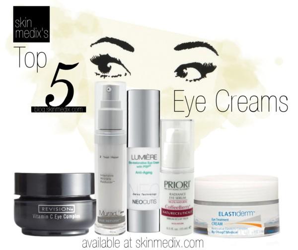 Top 5 Eye Creams - SkinMedix.com