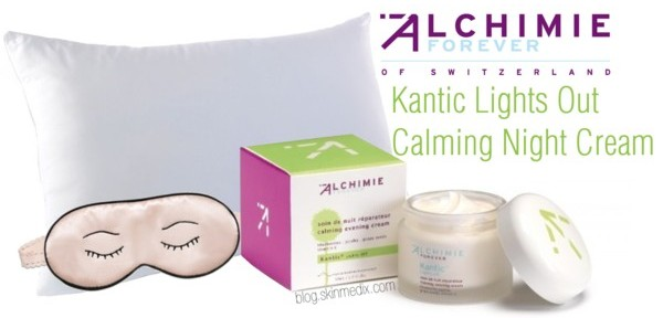 Alchimie Forever Kanitic Lights Out Calming Night Cream available at SkinMedix.com