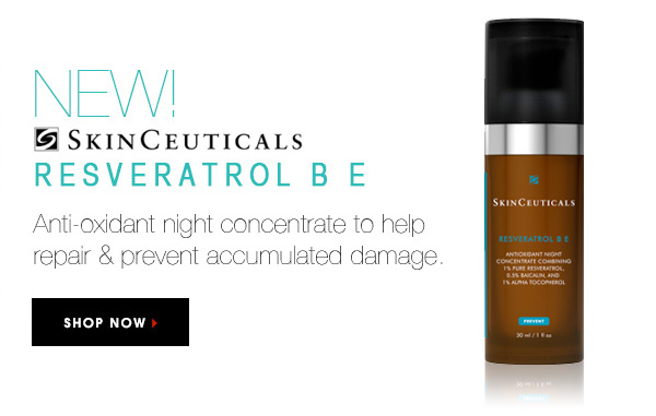 SkinCeuticals Resveratrol B E available at SkinMedix