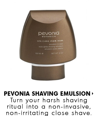 Pevonia Easy-Glide Shaving Emulsion - available at SkinMedix