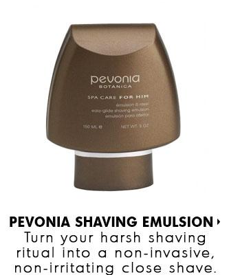 Pevonia Easy-Glide Shaving Emulsion - available at SkinMedix